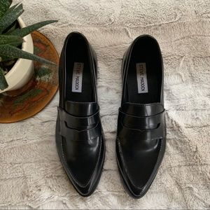 Steve Madden Lindie Patent Leather Loafers